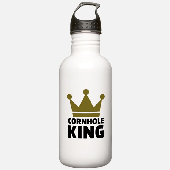 Cornhole king Water Bottle