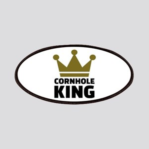Cornhole king Patch