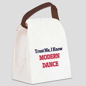 Trust Me, I know Modern Dance Canvas Lunch Bag