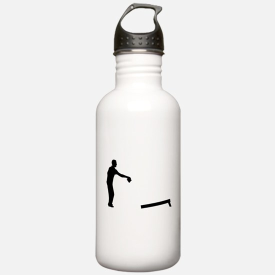 Cornhole player Water Bottle