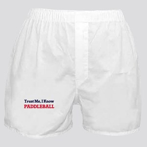 Trust Me, I know Paddleball Boxer Shorts