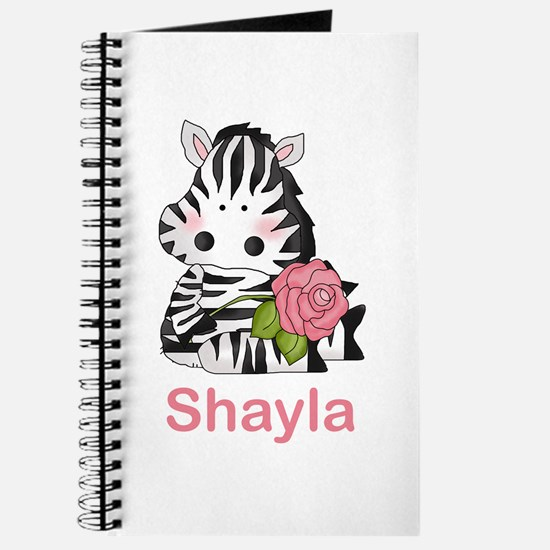 Shayla's Zebra Rose Journal