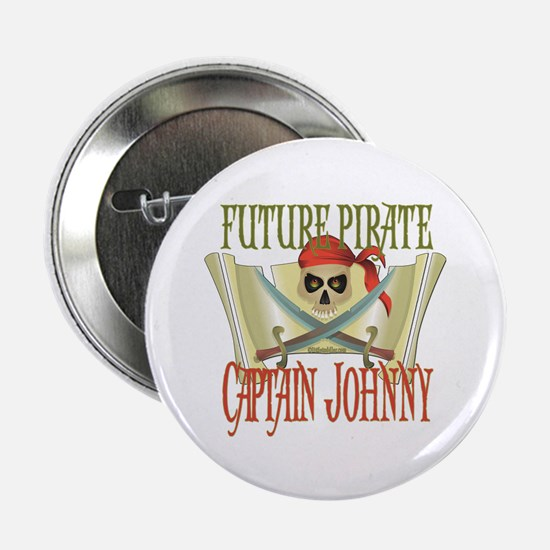 "Captain Johnny 2.25"" Button"