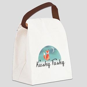 Kushy Tushy Canvas Lunch Bag