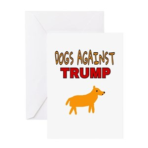 Anti Trump Greeting Cards