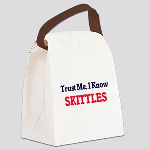 Trust Me, I know Skittles Canvas Lunch Bag