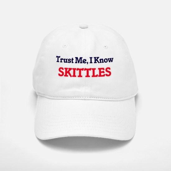 Trust Me, I know Skittles Baseball Baseball Cap