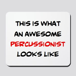 awesome percussionist Mousepad