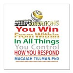 YouWin Square Car Magnet 3
