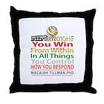 YouWin Throw Pillow