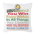 YouWin Woven Throw Pillow