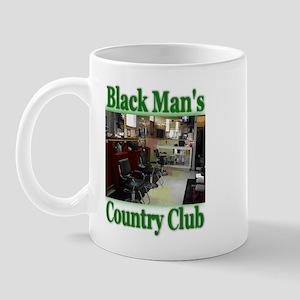 Black Man's Country Club-Gree Mug