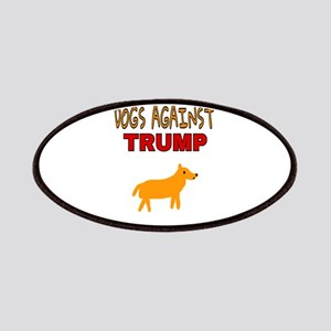 DOGS AGAINST TRUMP Patch