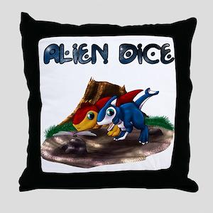 Chibi Epsy and Zeta - Dragonfly Throw Pillow