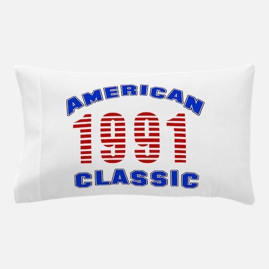 American Classic 1991 Pillow Case