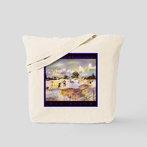 Siesta Beach Sandcastles Tote Bag