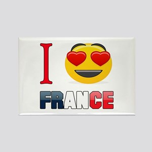 I love France Rectangle Magnet