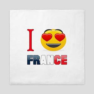 I love France Queen Duvet