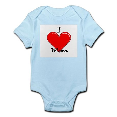 I love Mama Infant Bodysuit