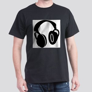 DJ Headphones Ash Grey T-Shirt