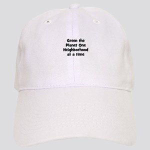 Green the Planet One Neighbor Cap