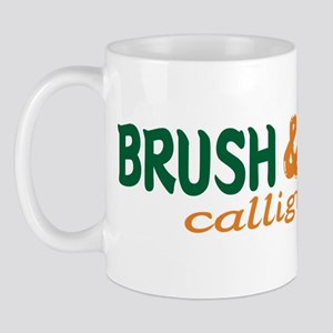 Brush writting B&N Mug