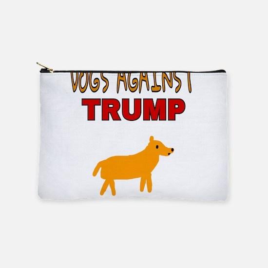 DOGS AGAINST TRUMP Makeup Bag