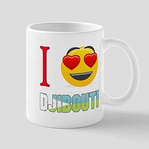 I love Djibouti Mug