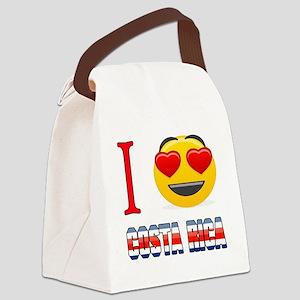 I love Costa Rica Canvas Lunch Bag