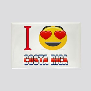 I love Costa Rica Rectangle Magnet