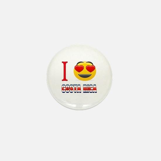 I love Costa Rica Mini Button
