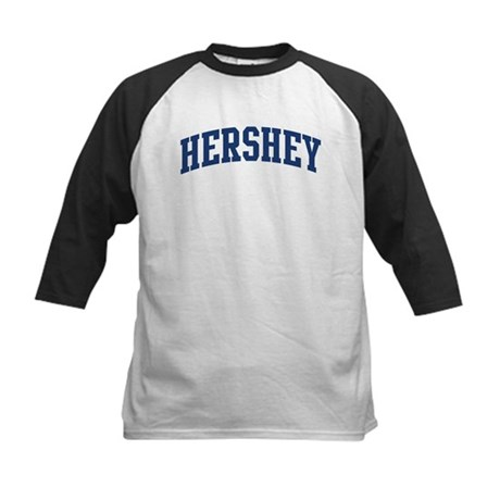 HERSHEY design (blue) Kids Baseball Jersey