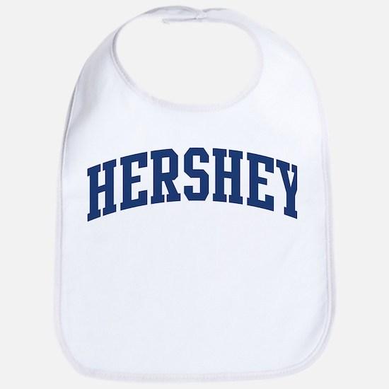 HERSHEY design (blue) Bib