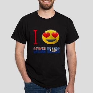 I love Cayman Islands Dark T-Shirt