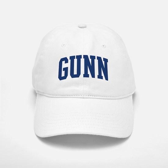 GUNN design (blue) Baseball Baseball Cap