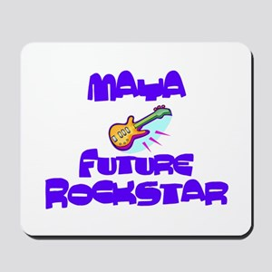 Maya - Future Rock Star Mousepad