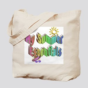 Summer Essentials Tote Bag