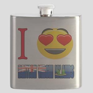 I love British Virgin Islands Flask