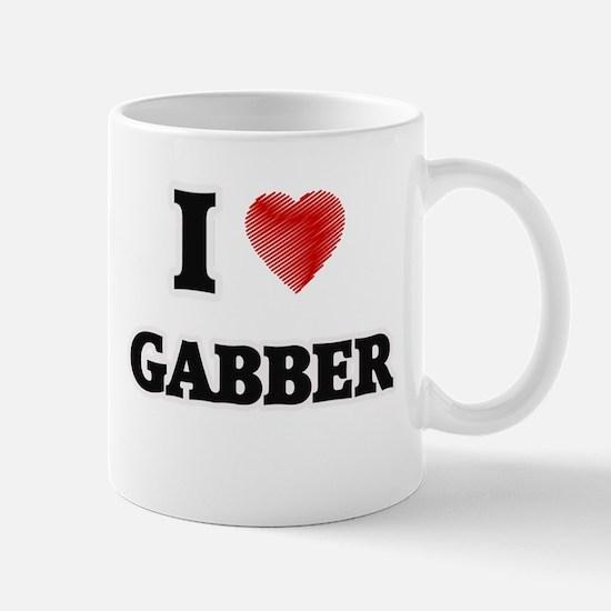 I Love Gabber Mugs