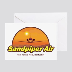 Sandpiper Air Greeting Cards (Pk of 10)