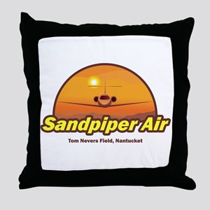Sandpiper Air Throw Pillow