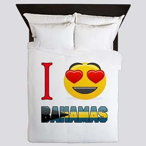 I love Bahamas Queen Duvet