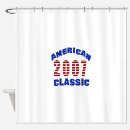 American Classic 2007 Shower Curtain
