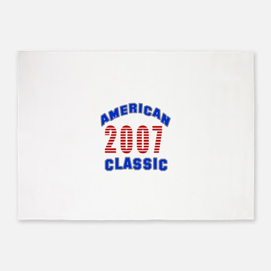 American Classic 2007 5'x7'Area Rug