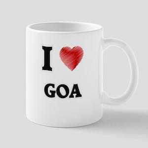 I Love Goa Mugs