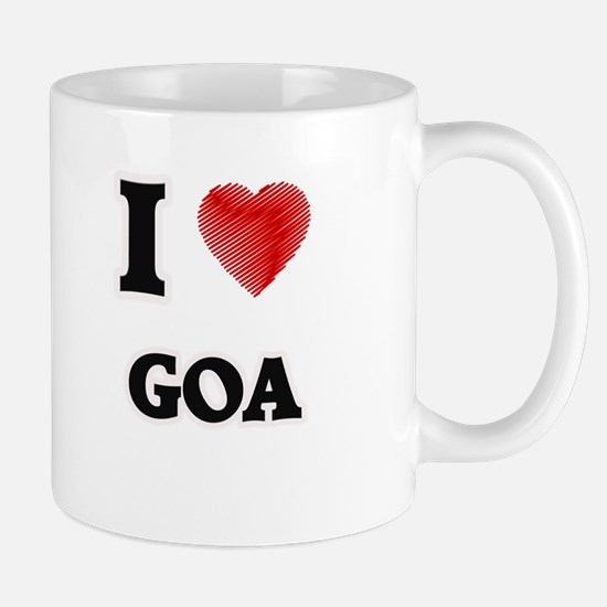 I Love Goa Mugs