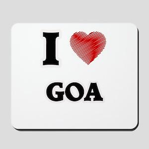 I Love Goa Mousepad