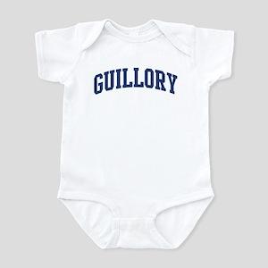 GUILLORY design (blue) Infant Bodysuit