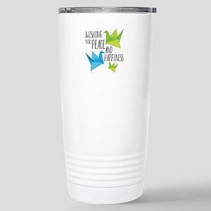 Wishing Peace Travel Mug