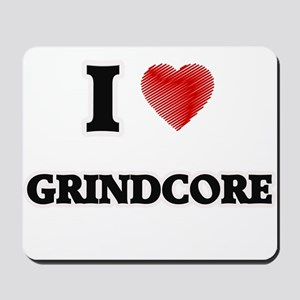 I Love Grindcore Mousepad